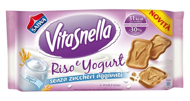 """Sempre in forma con """"Riso &Yogurt"""" Vitasnella"""