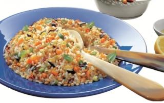 Ricetta Riso Gallo: insalata ai 3 cereali con verdurine fresche