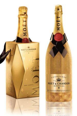 Moët & Chandon Diamond collection il natale 2012 e' oro scintillante!