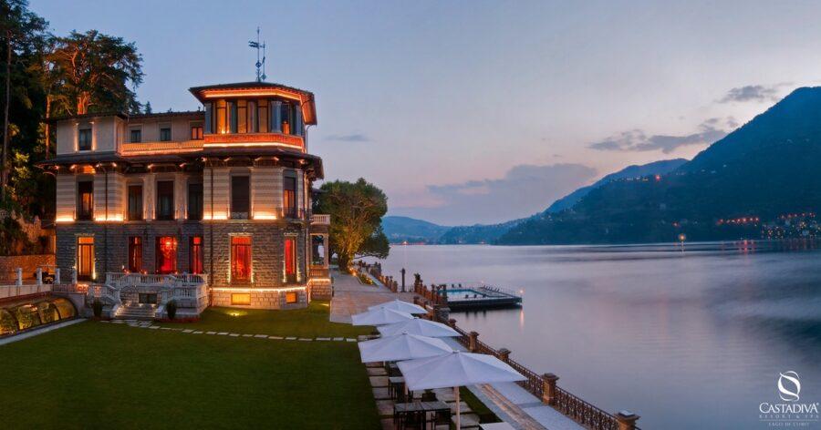 """La kermesse gastronomica """"Simposio del Gusto"""" nella stupenda cornice del lago di Como"""