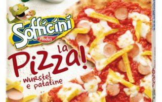 La Pizza! Wurstel e patatine è qui la festa con la nuova pizza di Sofficini Findus!