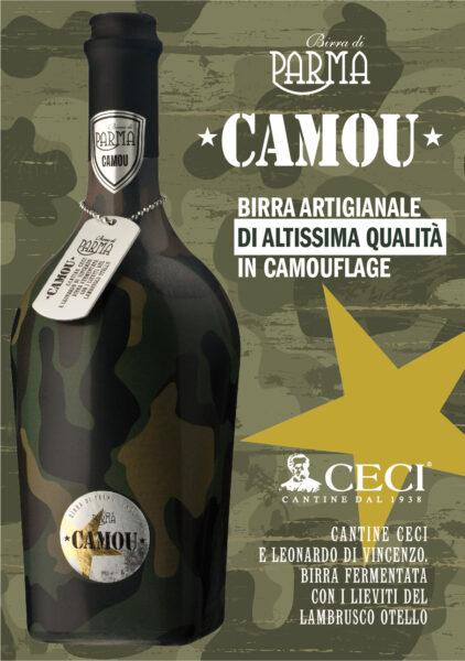 Novità per le Cantine Ceci: una nuova bionda stile camouflage