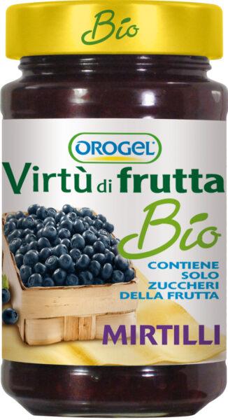 Virtù di Frutta Bio ai Mirtilli di Orogel: solo frutta di qualità...in vasetto!