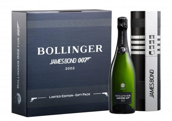 Bollinger, da sempre lo champagne di James Bond