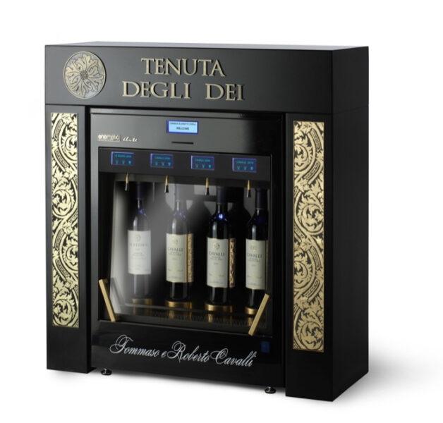 """Enomatic & Cavalli: con la Wine Card degustazione delle quattro etichette di """"Cavalli Tenuta degli Dei"""""""