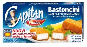 """I """"Bastoncini"""" di merluzzo di Capitan Findus: mai così croccanti…anche al forno!"""