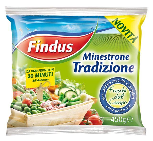 Findus: col Minestrone Tradizione Il meglio delle verdure