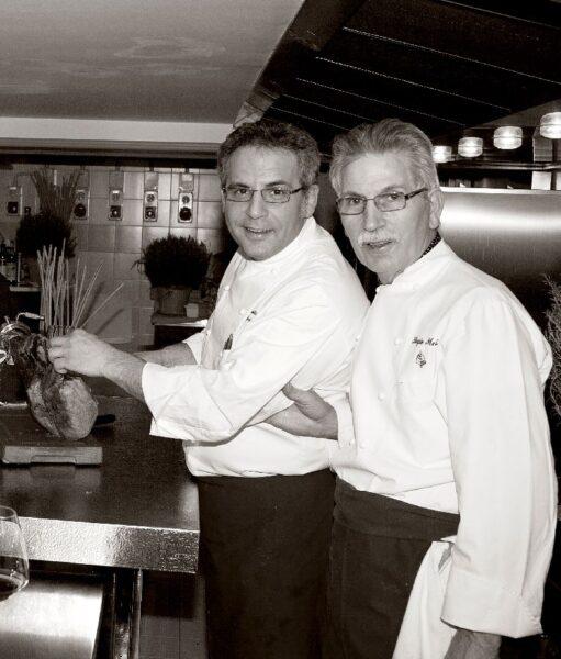 Sergio Mei e Sebastiano Spriveri insieme per un gioco gastronomico a suon di pop & jazz