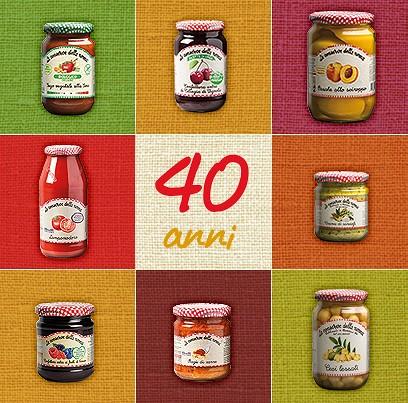 """I primi 40 anni de """"Le Conserve della Nonna"""", marchio del Gruppo Fini s.p.a."""