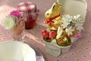 La Pasqua e' piu' dolce con Gold Bunny dei Maitres Chocolatiers Lindt