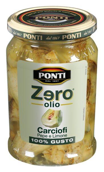 Zero olio® Ponti: conserve di verdura senza grassi