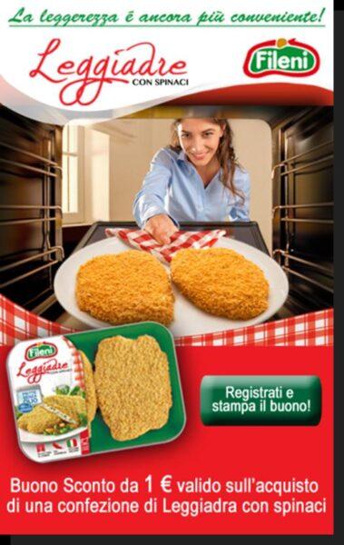 Leggiadre Fileni: è 'coupon mania'! al via la prima campagna di e-couponing online