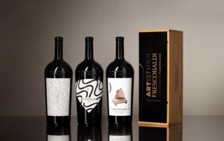 """Vino e Arte: a Vinitaly l'edizione limitata di bottiglie firmate """"artisti per Frescobaldi"""""""