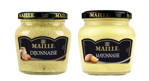 Maionesi, senapi, salse, aceti di Digione MAILLE