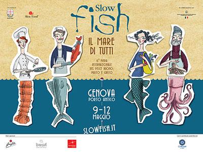 Slow Fish a Genova, dal 9 al 12 maggio