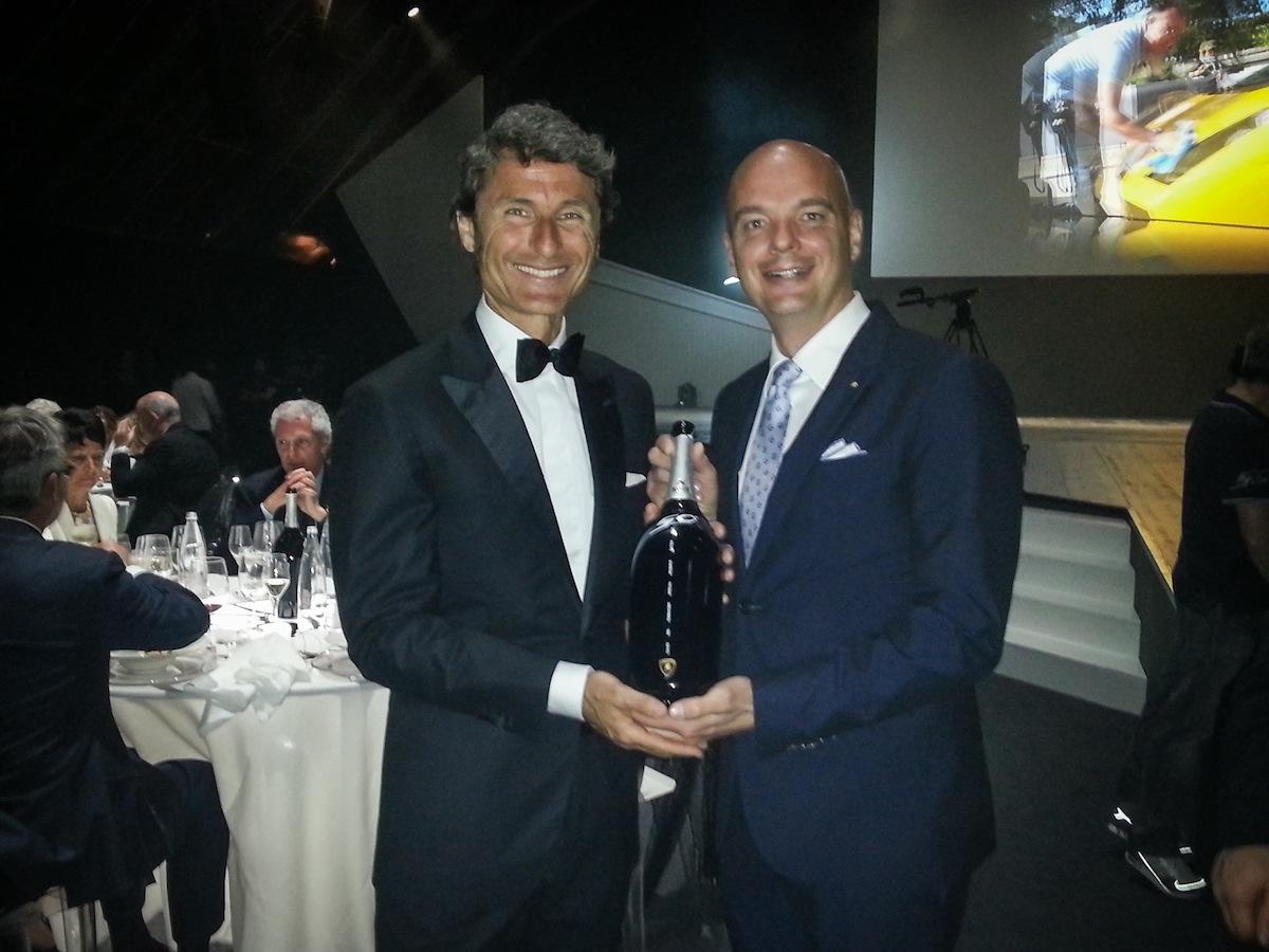 Lamborghini e Bisol festeggiano i 50 anni della Casa Automobilistica