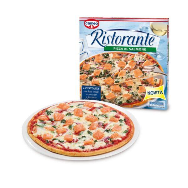 Pizza Ristorante cameo al salmone
