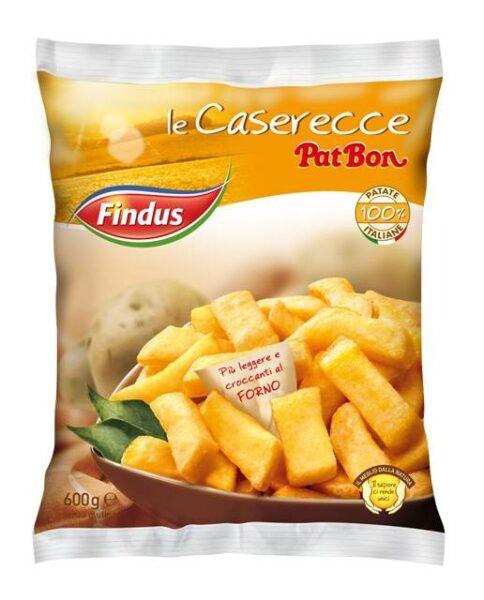 """PatBon """"le Caserecce"""" Patatine croccanti, gustose e genuine, da Findus"""