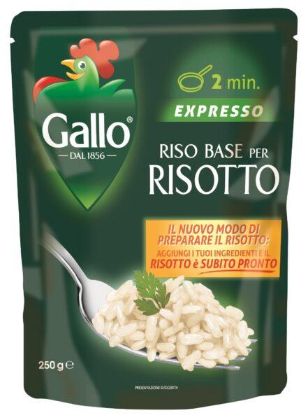 Con riso base per risotto di RISO GALLO il risotto diventa... veloce veloce!