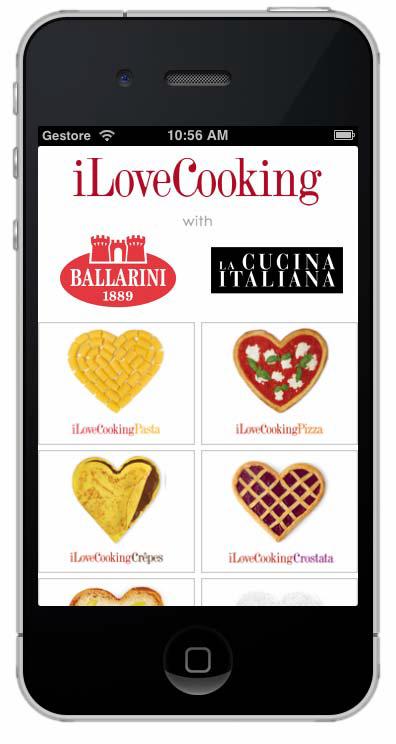 """Ballarini presenta la nuova mobile app """"i Love Cooking"""""""