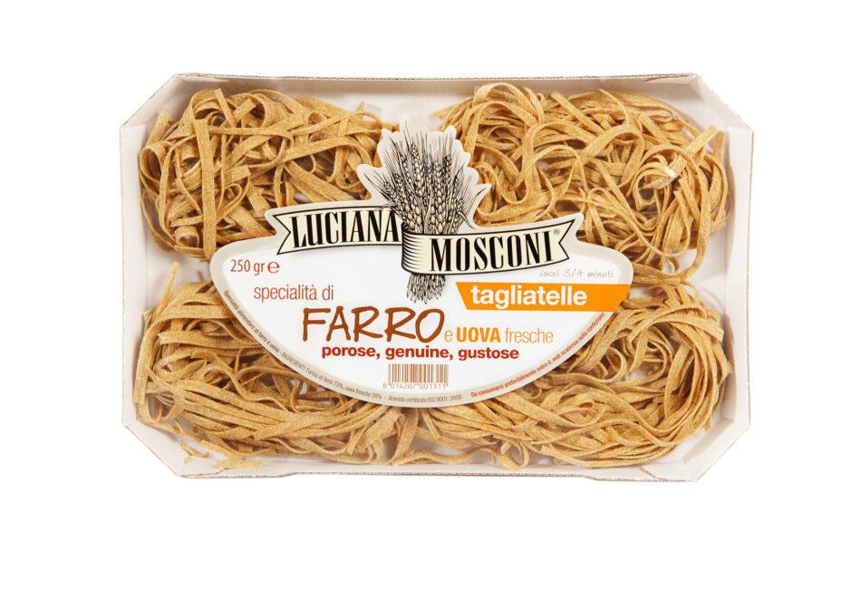 Specialità di Farro e Uova Fresche Luciana Mosconi: per un primo piatto genuino e gustoso!