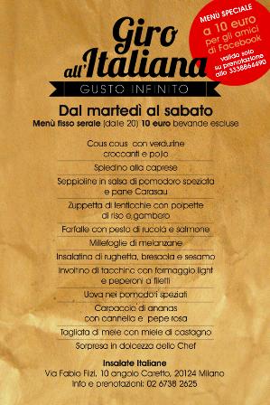Insalate Italiane - Fast Food del Benessere a Milano aperto anche la sera