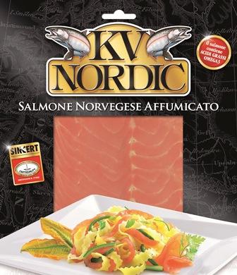 Trenette con Salmone Norvegese Kv Nordic, zucchine e fiori di zucchine