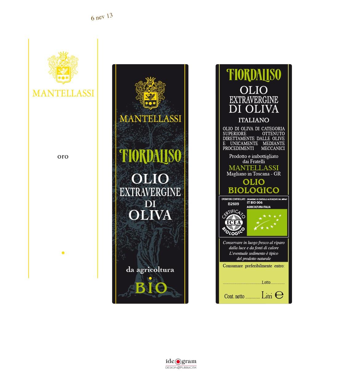 Nasce Fiordaliso, l'olio extravergine di oliva biologico prodotto dalla famiglia Mantellassi