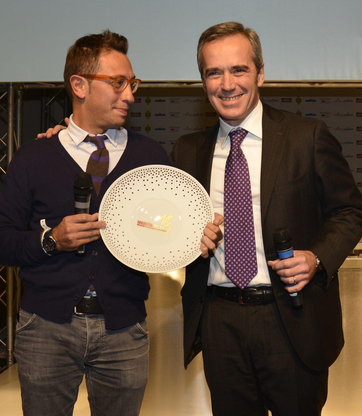 IDENTITA' GOLOSE: lo chef Stefano Ciotti vince il Premio Birra in Cucina 2014 assegnato da Birra Moretti