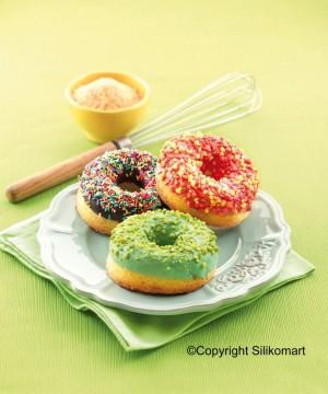 Ciambelle leggerissime con Donuts e Small Donuts di Silikomart