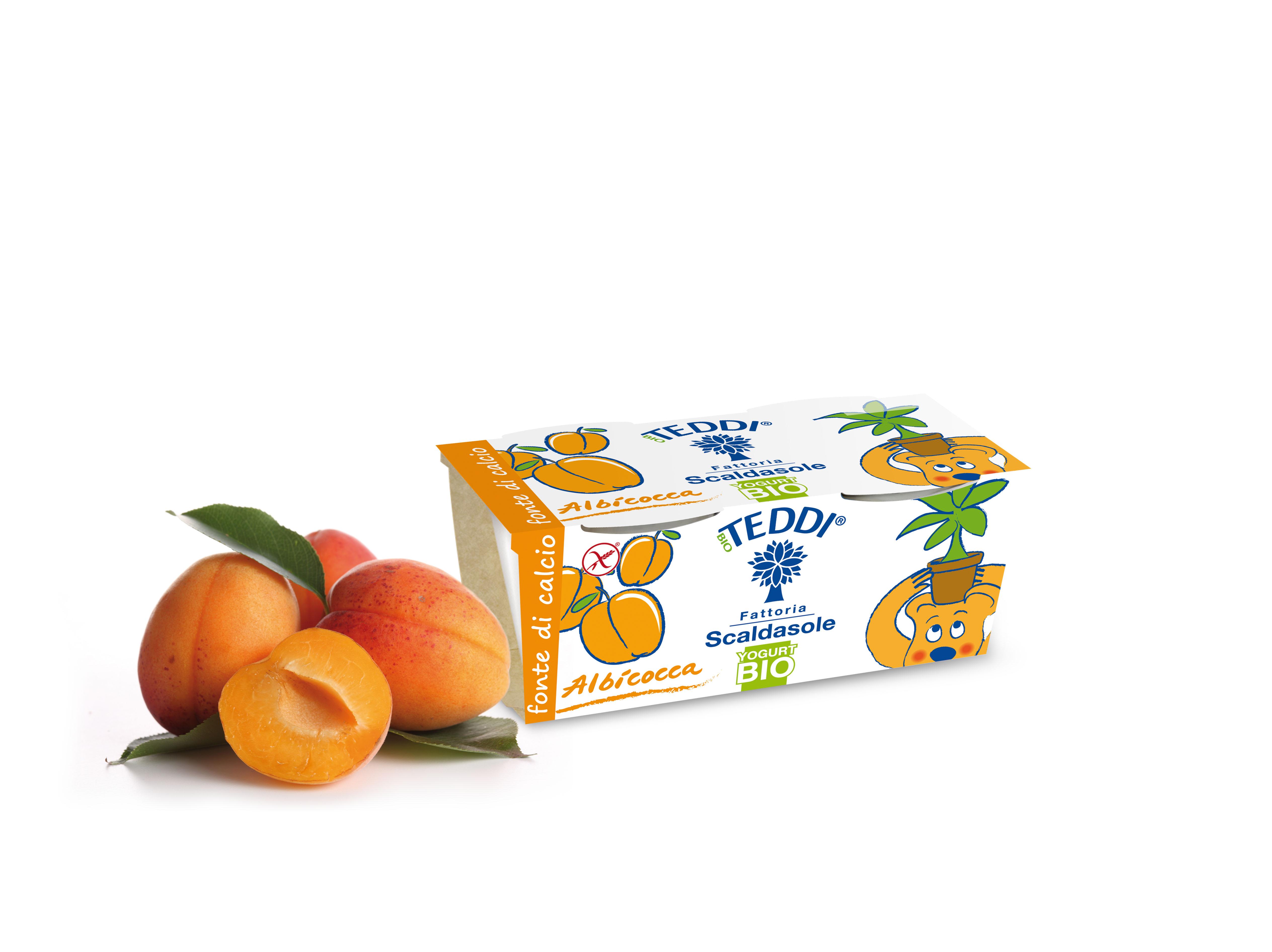 Yogurt Teddi alla frutta, per bambini di tutte le età