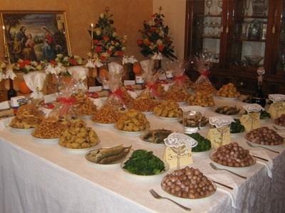 Le tavole di San Giuseppe antica tradizione salentina