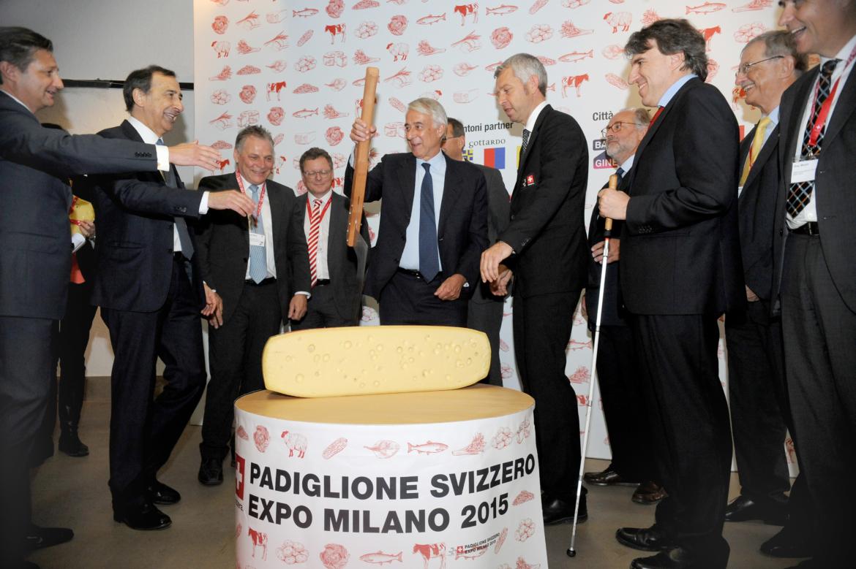 """""""Il giro del gusto"""" presenta a Milano la Svizzera gastronomica, in vista dell'EXPO 2015"""