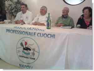 A Castelvolturno gli chef di Campania Team