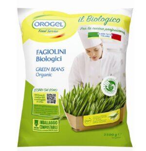 """Imballaggi biodegradabili e compostabili per la nuova linea dei """"vegetali Bio"""" Orogel"""
