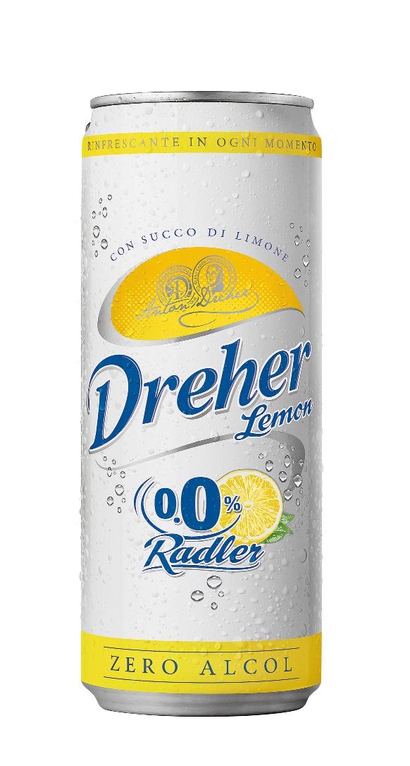 Disseta l'estate la nuova Dreher Lemon Radler 0,0%