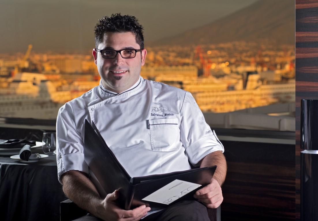 Lo chef Salvatore Bianco alla Festa a Vico