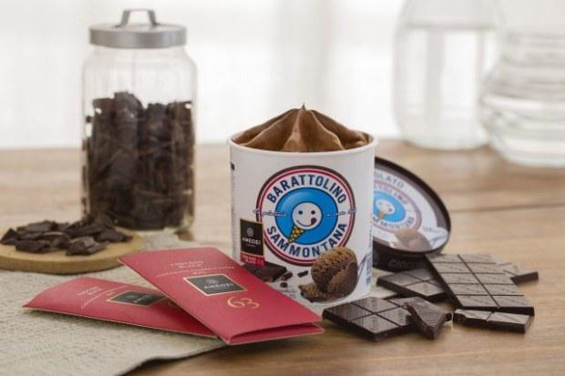 Novità per l'estate: barattolino Sammontana al cioccolato Amedei Toscano Black 63%