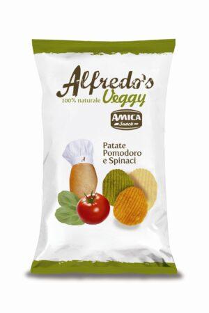 Amica Chips presenta Veggy le patatine vegane