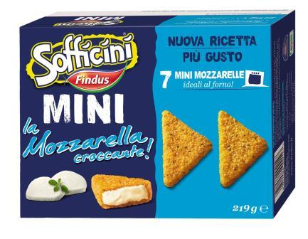 Findus presenta i Mini i Crocchè!, Mini i Supplì!, Mini la Mozzarella Croccante!