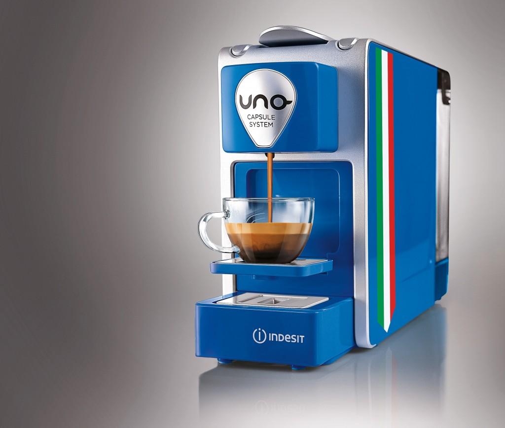 Indesit UNO per un caffè mondiale