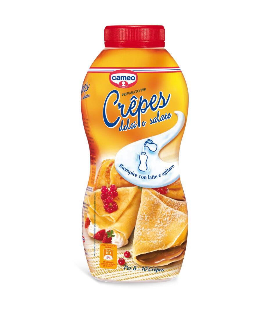 Con preparato cameo per Crêpes un delizioso dessert pronto in un attimo!
