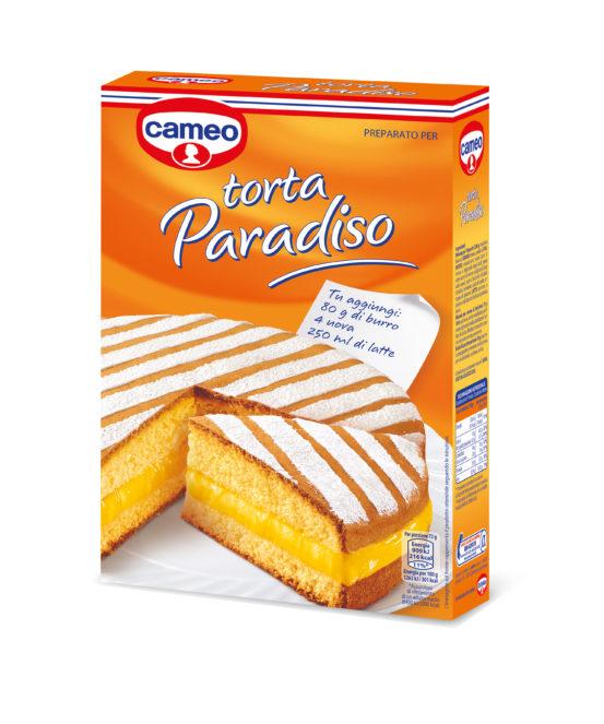 Preparati per Torte cameo: Torta Paradiso, soffice e leggera