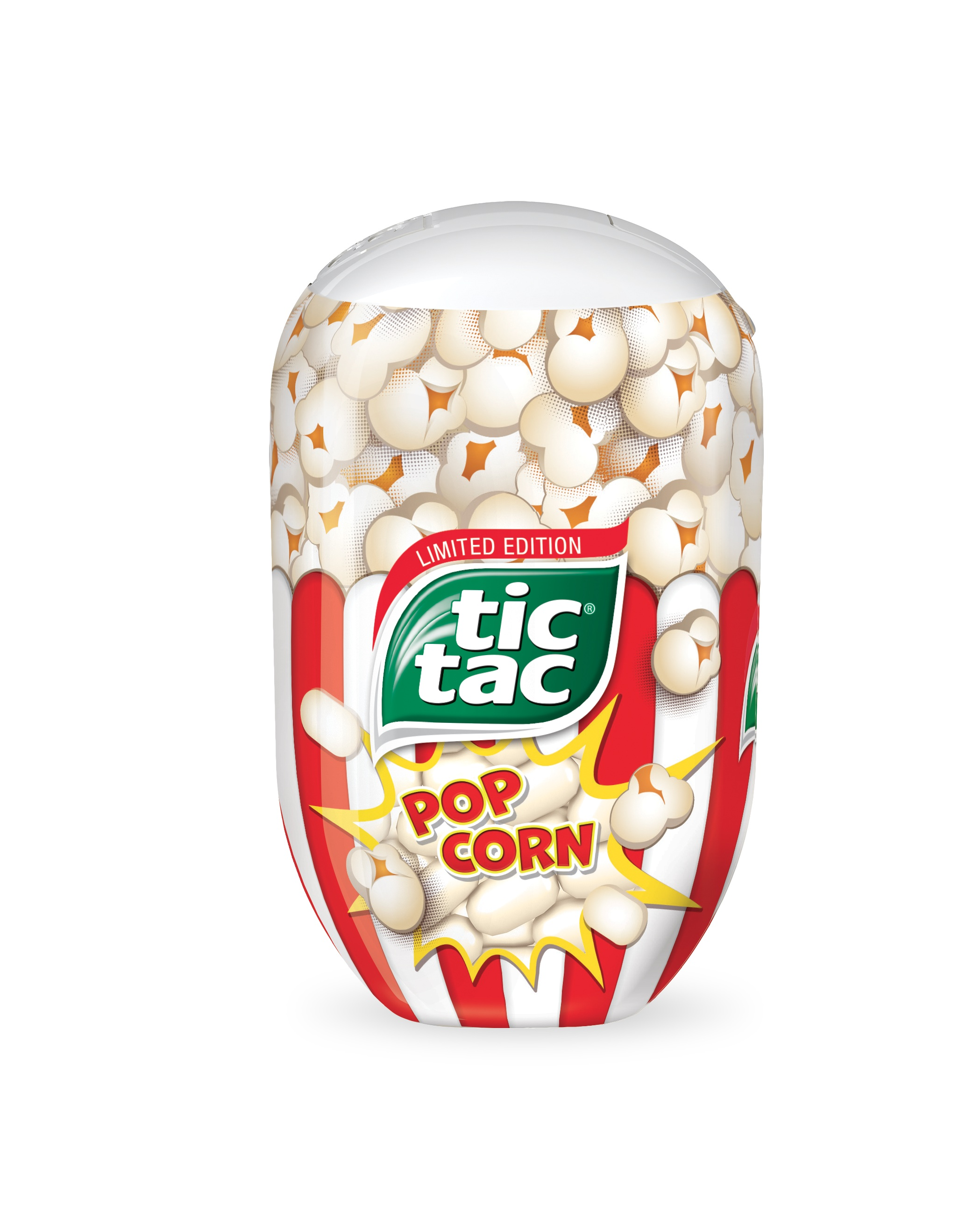 Arrivano i Tic Tac Pop Corn in edizione limitata