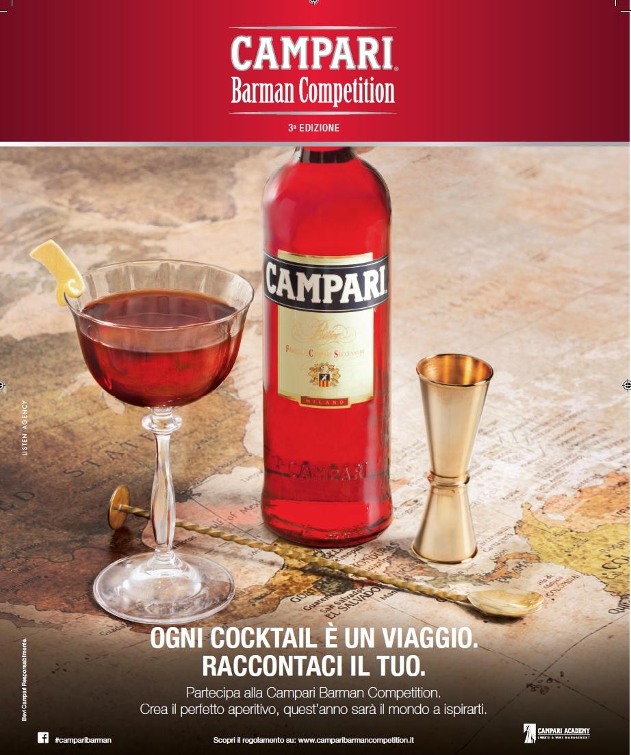 Campari Barman Competition: al via la 3° Edizione