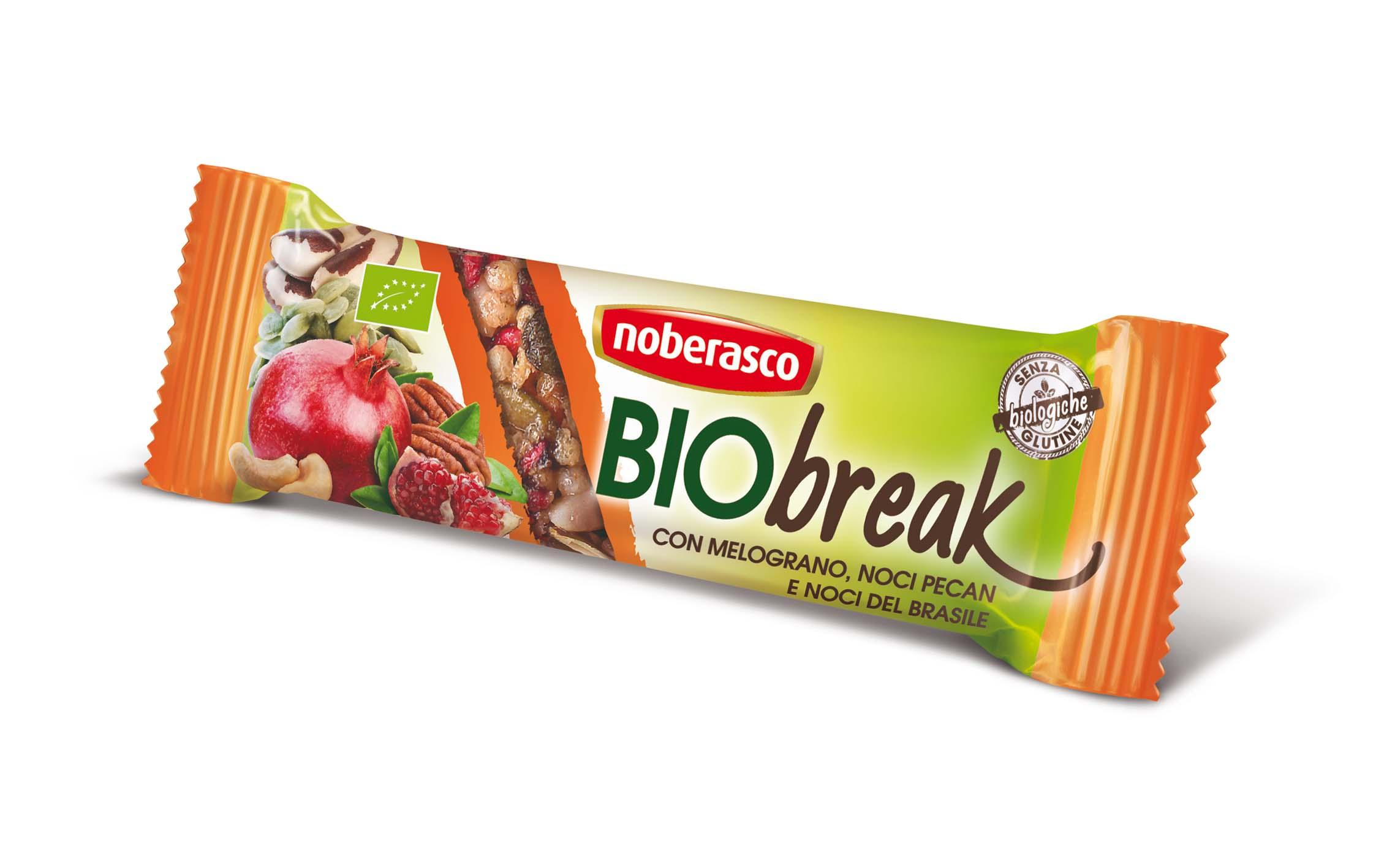 Barrette Bio Break, la grande novità Noberasco