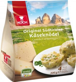 Canederli Koch: gli unici canederli surgelati con il Marchio di Qualità Alto Adige