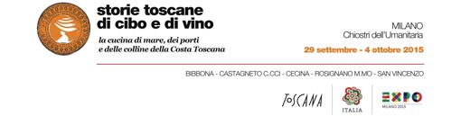 Storie toscane di cibo e di vino: la cucina di mare, dei porti e delle colline della Costa Toscana