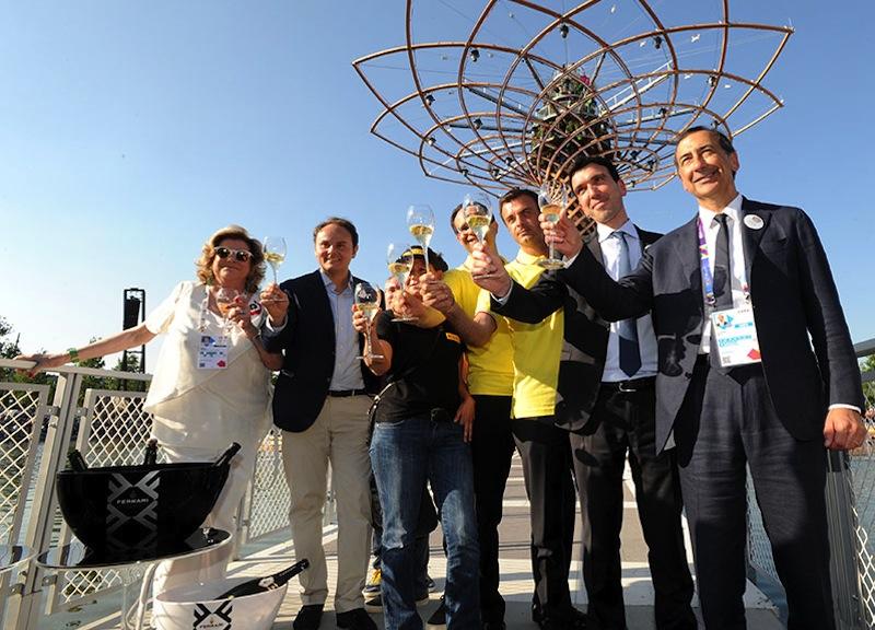 Expo Milano 2015 chiude i battenti e Ferrari brinda al successo