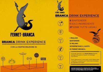 Branca Drink Experience: sei incontri a Milano con i migliori bartender